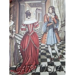 Molière,_Théâtre_Complet,_Illustrations_Robert_Beltz,_Les femmes _savantes