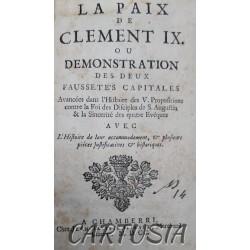 Quesnel_La paix_de_Clément_IX_ou _démonstration_des_deux _faussetés_capitales