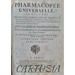 Pharmacopée_Universelle, _Nicolas_Lemery,_Tome_1