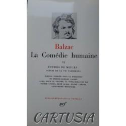 La Comédie Humaine, T. VI,...