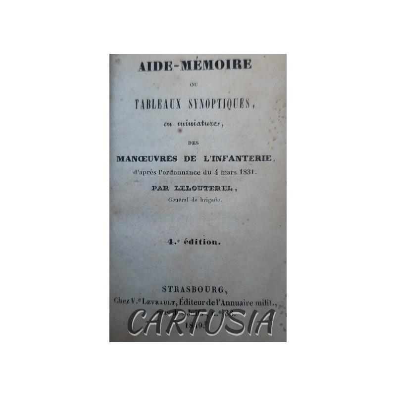 Aide_Mémoire_des_Manœuvres_de_l'infanterie_Lelouterel