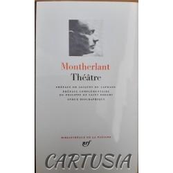 Montherlant_Théâtre