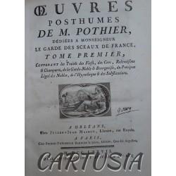 Œuvres_Posthumes_de_M. Pothier,_Tomes_I_à_III,_Robert-Joseph_Pothier